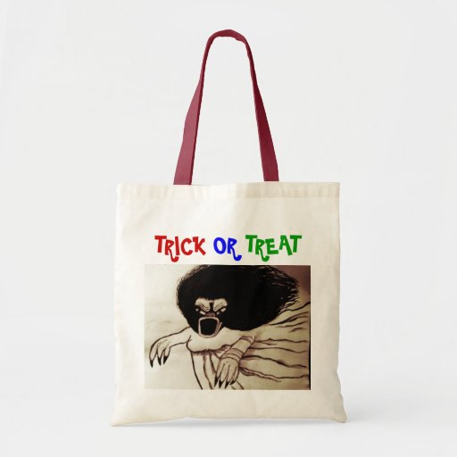 SHE CREATURE, TRICK OR TREAT bag