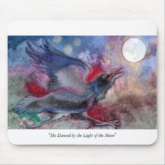 She Danced by the Light of the Moon Mouse Pad