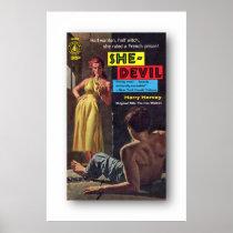 She-Devil by Harry Hervey Poster