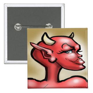 She Devil Pinback Button