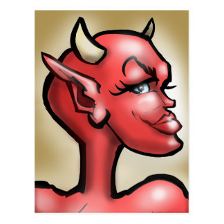 She Devil Postcard