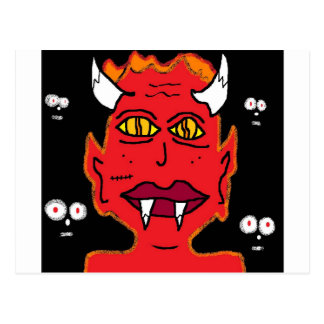 she devil postcard