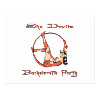 She Devils Party Postcard