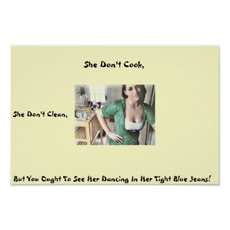 She Don't Cook Poster