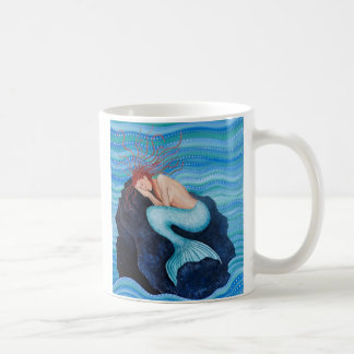 She Dreams Sea Dreams Mermaid Mug
