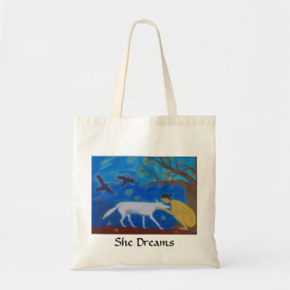 She Dreams tote bag