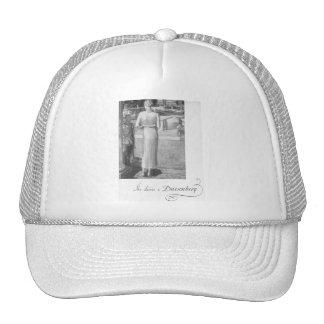 She drives a Duesenberg Trucker Hat