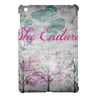 she endures Forest iPad Mini Cover