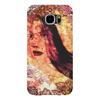 She Feminine Inky Tatoo Samsung Galaxy S6 Cases