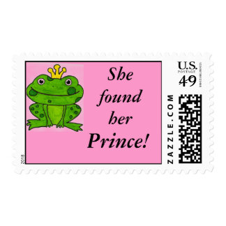 She found her Prince stamp