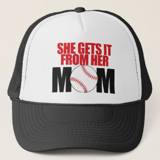 She gets it from her Mom Trucker Hat