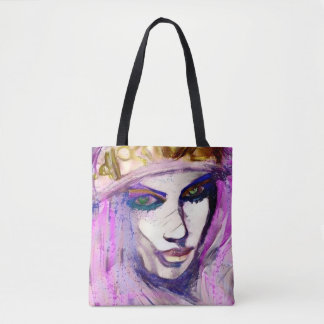 she, goddess of the streets tote bag