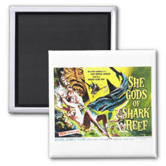"""She Gods of Shark Reef"" Magnet"