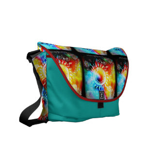 She Grew To Love The Fairytale Messenger Bag