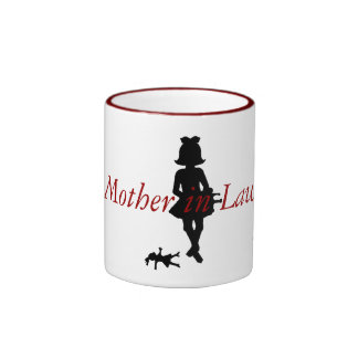 She had dreamed of being a Mother in Law Ringer Coffee Mug