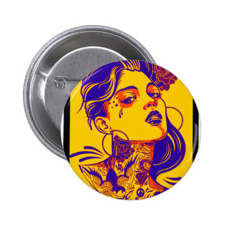SHE HAS BEST PINBACK BUTTONS