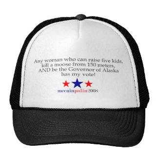 She has my vote trucker hat