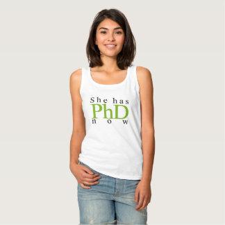 She has PhD now Tank Top