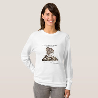 She is Dressed in Beauty with Quote LS T-Shirt