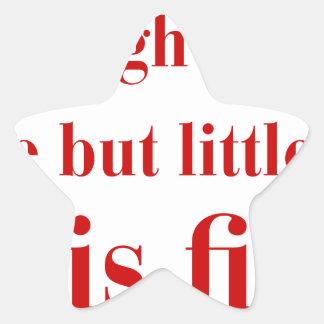 she-is-fierce-bod-brown.png star sticker