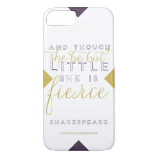 She is Fierce iPhone Case 6