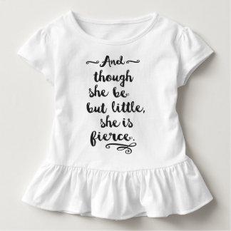 She is Fierce Toddler T-shirt