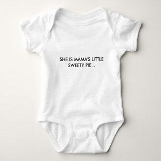 SHE IS MAMA'S LITTLE SWEETY PIE... BABY BODYSUIT