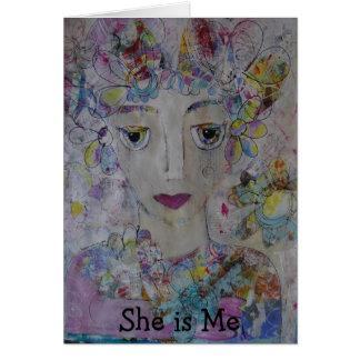 She is Me Card