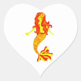 SHE IS OCEAN HEART STICKER