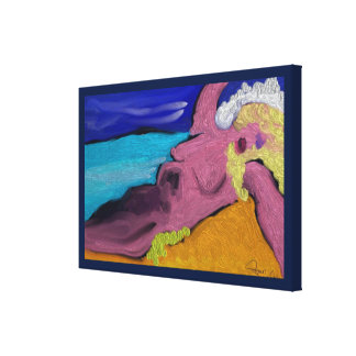 """""""She is"""" Premium Wrapped Canvas (Gloss) by Raine C"""