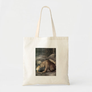 She Kissed the Bear's Nose Tote Bag