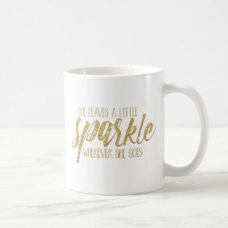 She Leaves A Little Sparkle Coffee Mug
