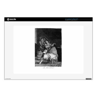 "She leaves him penniless by Francisco Goya Skins For 15"" Laptops"