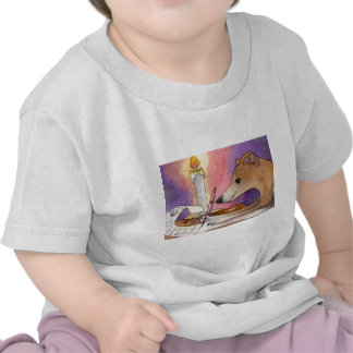She liked to write her Xmas list early Tshirts