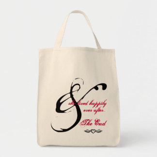 & She lived happily ever after tote bag