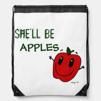 SHE LL BE APPLES Backpack