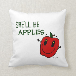 SHE LL BE APPLES Pillow