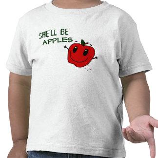 SHE LL BE APPLES Toddler T-Shirt