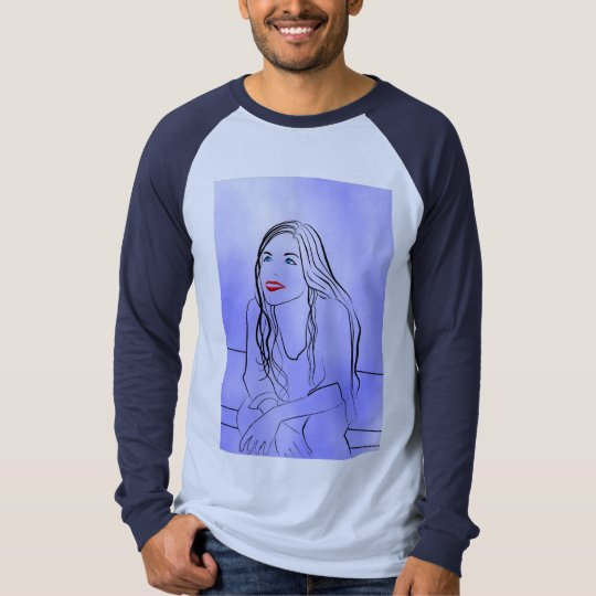 She Looks at the Sky - Shirt
