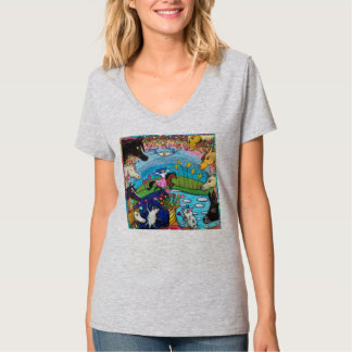 She Loves Horses and More! T-Shirt