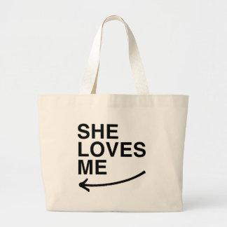 She loves me (left).png bag