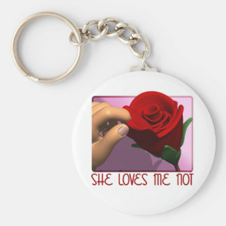 She Loves Me Not Gifts Keychain