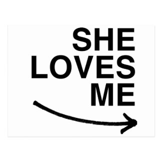 She loves me (right).png postcard