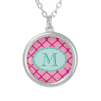 She Loves Me Silver Plated Necklace