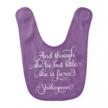 She may be little, but she is fierce. Shakespeare Bib