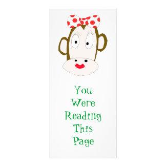 She-Monkey Bookmark Rack Card