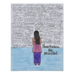 She Persisted (Lesbian) 8.5x11 Poster