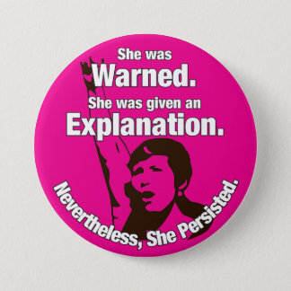 """She Persisted!"" Pin"