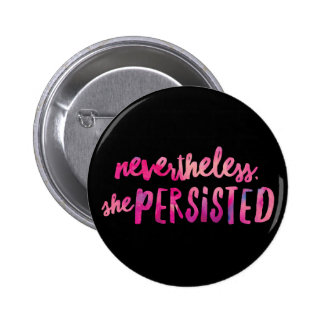 She Persisted Standard, 2¼ Inch Round Button