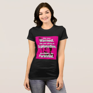 """She Persisted!"" T-Shirt"